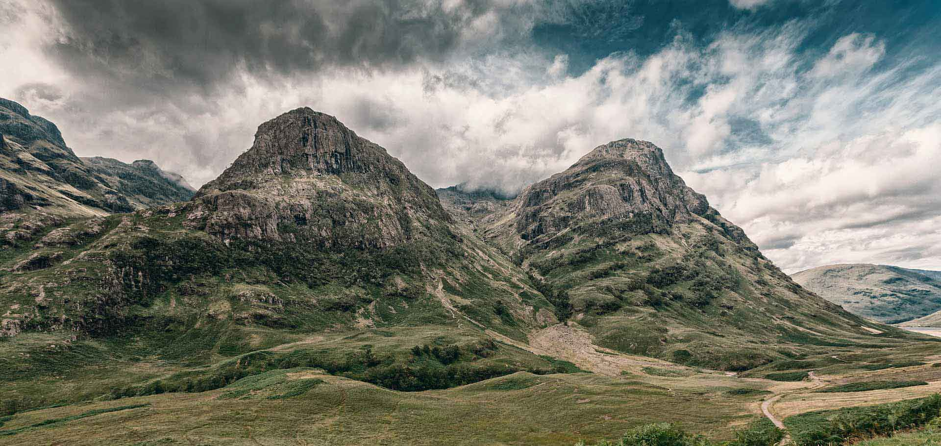 Stunning Scottish Mountain Range