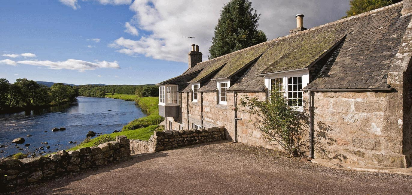 river dee fishing cottage