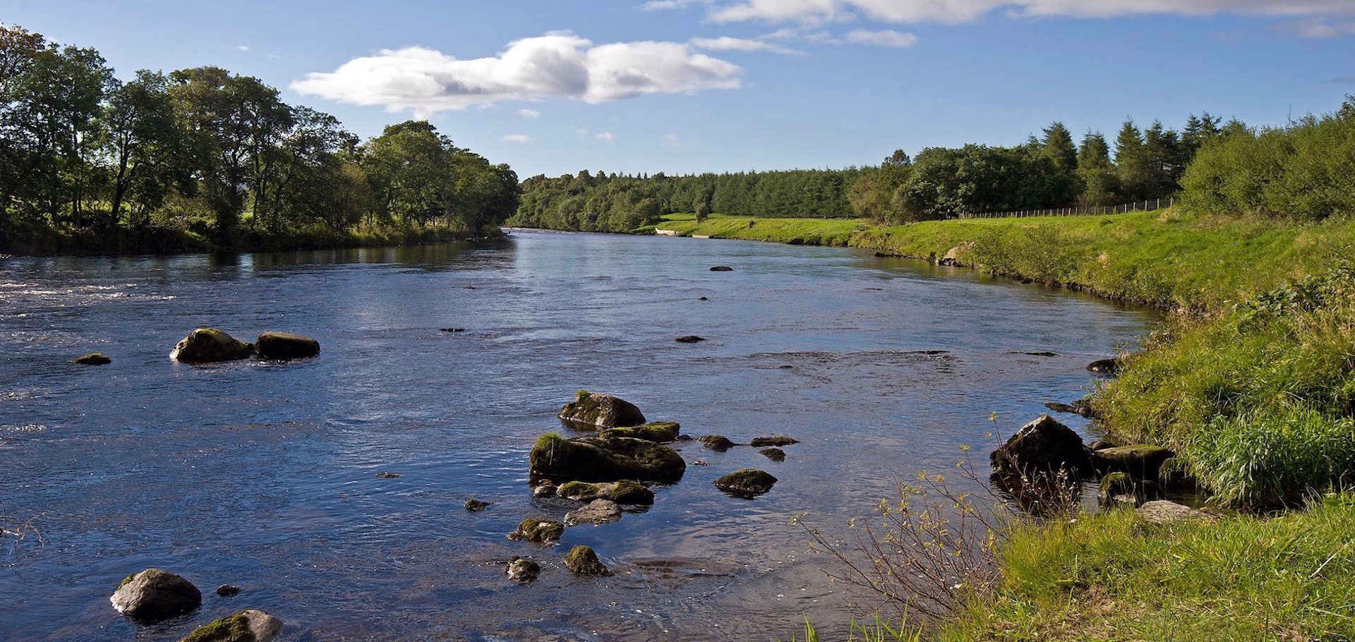 SPRING SALMON FISHING IN NORTH EAST SCOTLAND