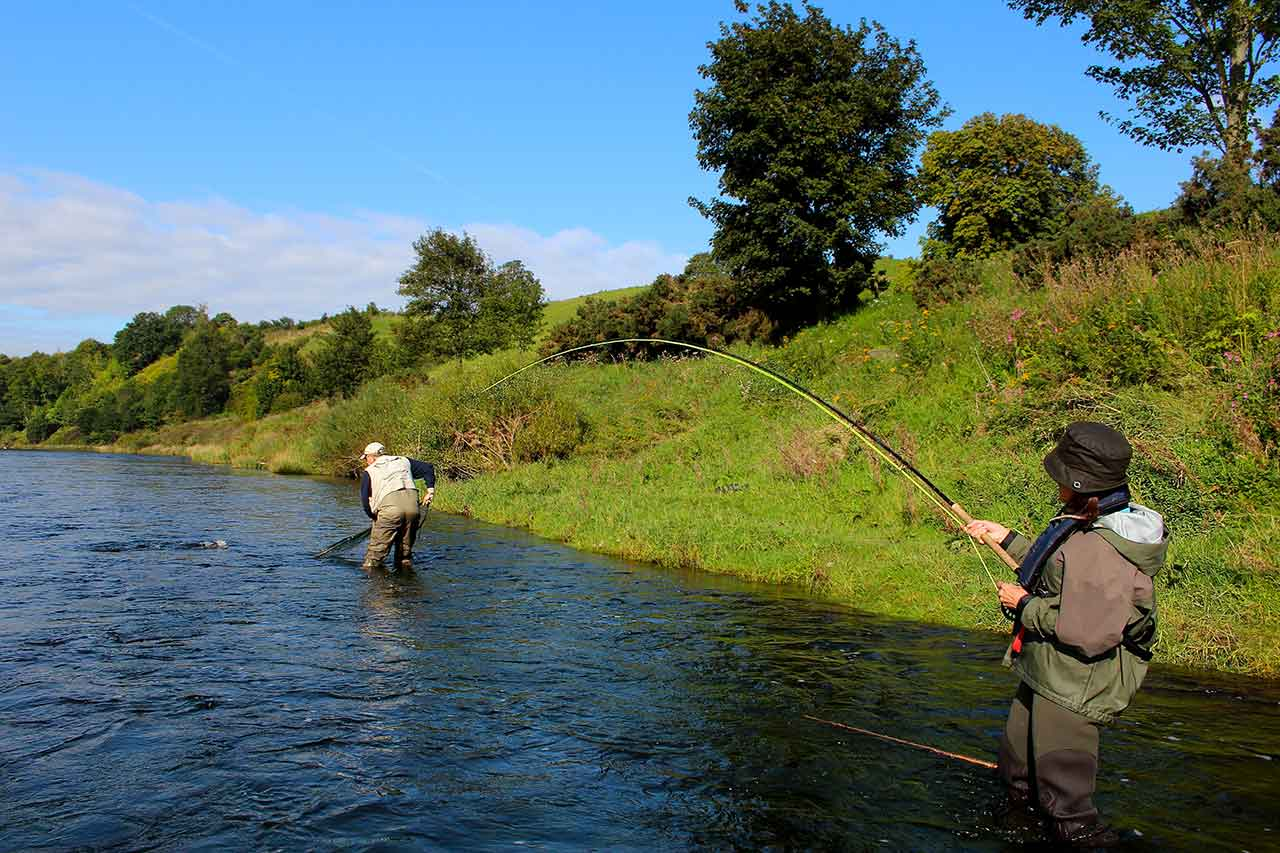 guided salmon fishing scotland