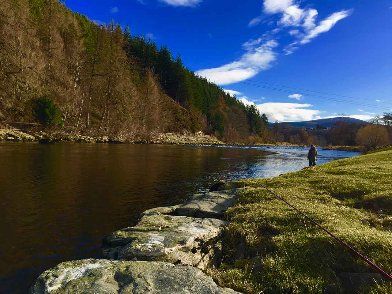 fly fishing river spey