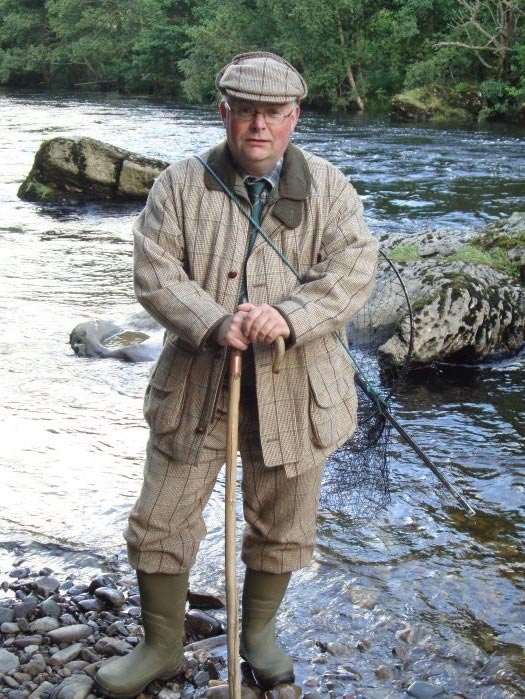 scottish fishing ghillie