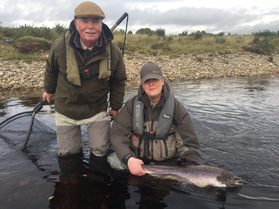 Autumn salmon fishing on the Tay system