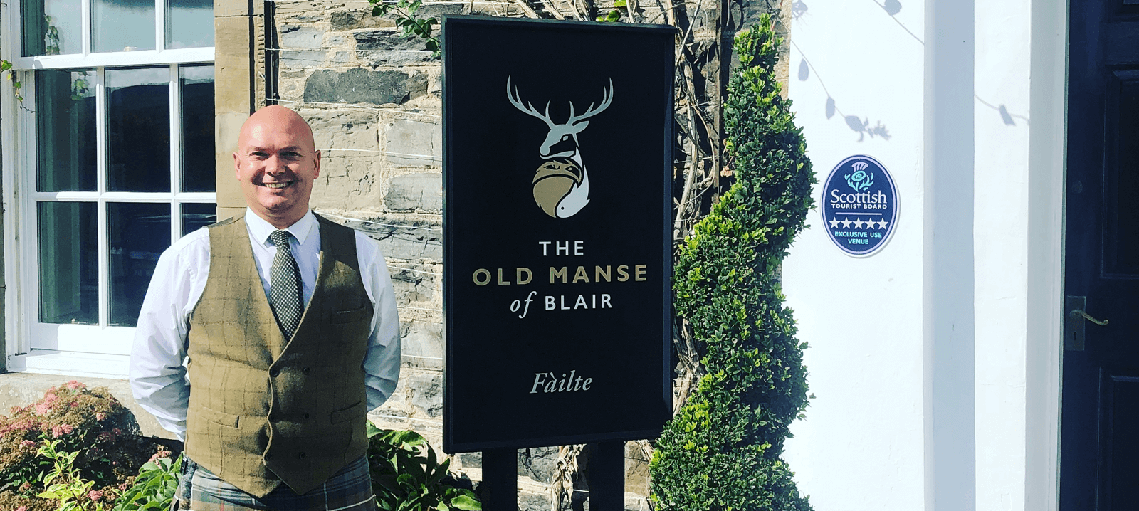 Old Manse of Blair